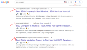 seo search
